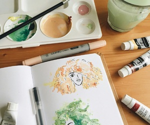 art, inspiration, and paint image