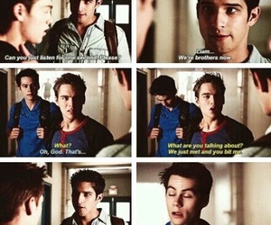 teen wolf, liam, and scott mccall image