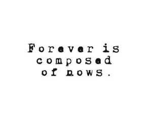 quote, forever, and sayings image