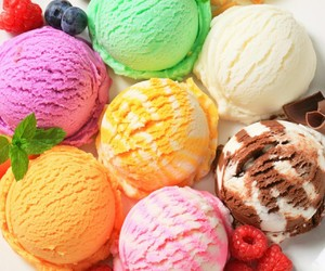 colorful, delicious, and icecream image