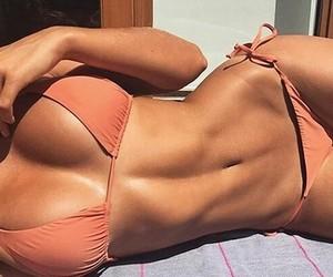 body, girl, and bikini image