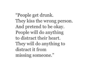 quotes, drunk, and kiss image