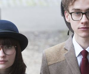 couple, emily browning, and olly alexander image