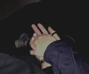 couple, grunge, and Relationship image
