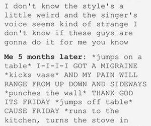 funny, Lyrics, and migraine image