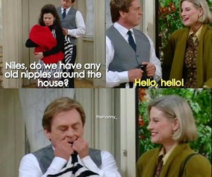 funny, lol, and the nanny image