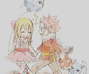 fairy tail, nalu, and anime image