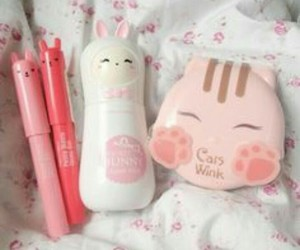 cute, korean, and pink image