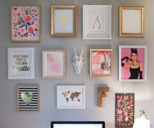 diy, home decor, and office image
