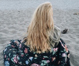 beatch, blonde, and girl image