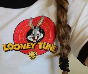 braid, bunny, and funny image