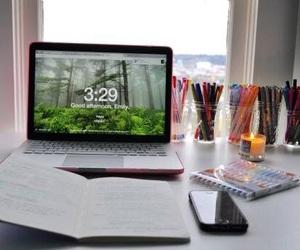 books, organisation, and homework image
