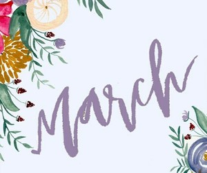 march and calendar image