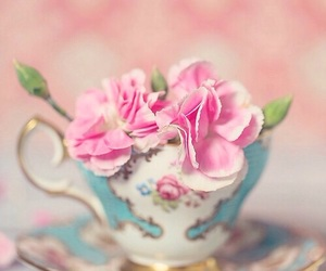 flowers, pastels, and pink image