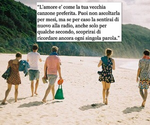 amore, frasi, and spiaggia image