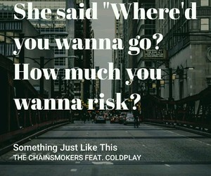 beautiful, coldplay, and quote image