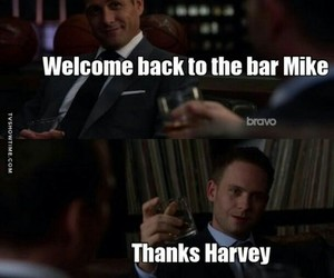 harvey, tv show, and mike ross image