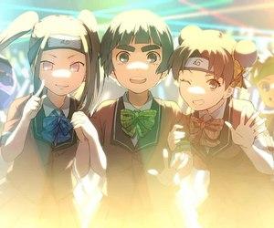 anime, kiba, and neji image