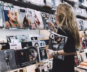 girl, magazine, and style image