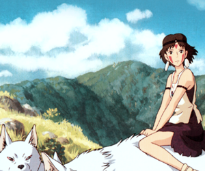 anime, mononoke, and ghibli image