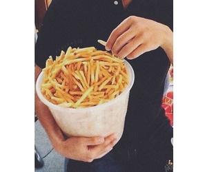 food, mood, and fries image