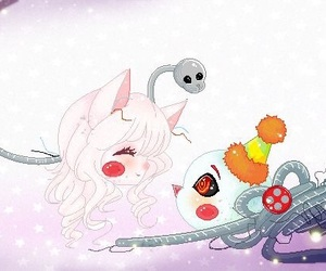 chibi, mangle, and fnaf image
