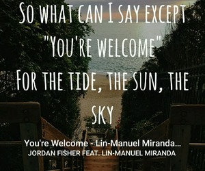 Lyrics, oceania, and song lyrics image