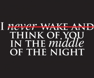 night, text, and love image