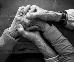 black and white, photography, and love image