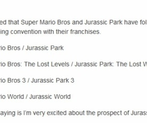 funny, Jurassic Park, and super mario bros image