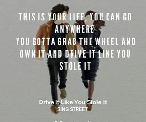 Lyrics, movie, and quote image