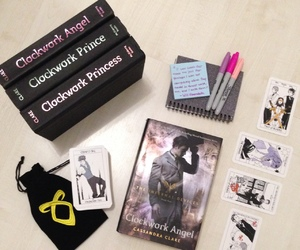 books, clockwork angel, and the infernal devices image