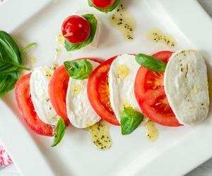 salad, tomatoes, and healthy food image