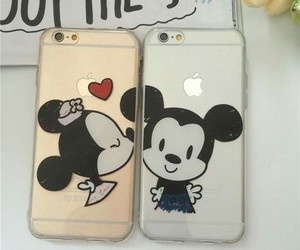 cases, disney, and iphone image