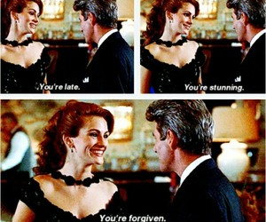 pretty woman and movie image
