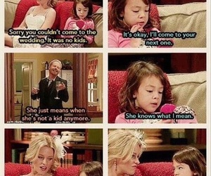 funny, modern family, and lily image
