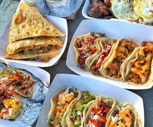 food, tacos, and yummy image