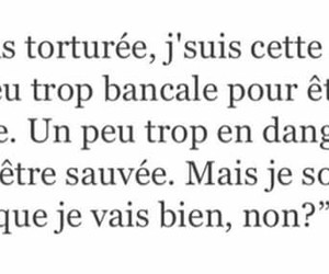 french, quotes, and triste image