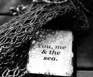 love, sea, and me image