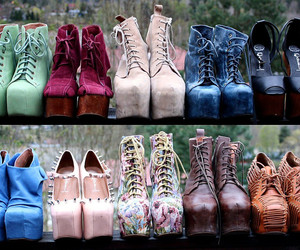 shoes, jeffrey campbell, and heels image