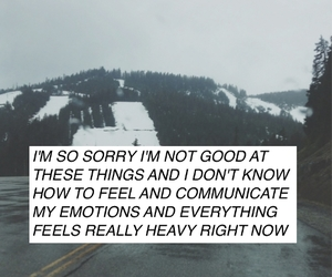 feelings, quote, and grunge image