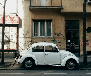 cars, retro, and streets image