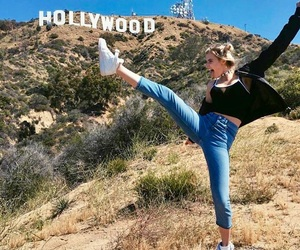 hollywood, girl, and goals image