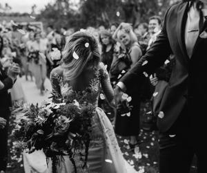 wedding, goals, and bride image