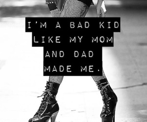 bad, Lady gaga, and quote image