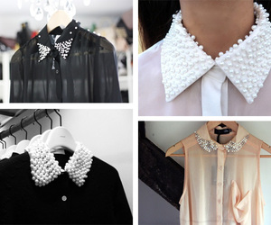 diy, collar, and shirt image
