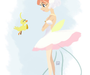 princess tutu and ahiru image