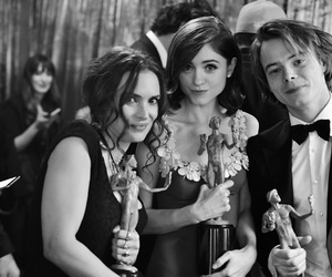 winona ryder, stranger things, and charlie heaton image