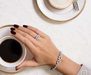 coffee, jewelry, and luxury image