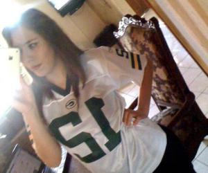 fan and green bay packers image